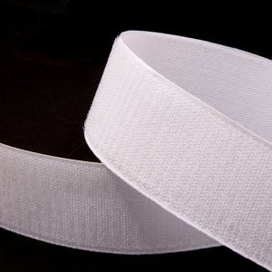 "`Лента-контакт клеевая ""Велкро"", ширина 20мм, пара, цвет белый"