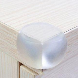 Силиконовые защитные уголки для мебели, 4 шт, Диаметр: 3 см