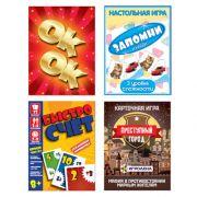 ИГРОЛЕНД Настольная карточная игра, 21-109 карт, 8,5х16,5х1,6см, 4 дизайна