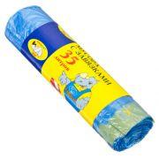 МУЛЬТИПЛАСТ Мешки для мусора с завязками 35л, 15шт, 10 микрон, арт.027003/960089