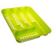 "Сушилка для столовых приборов, 5 секц, пластик, 33х26х4,5см, ""Кантри"" арт.4845"