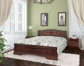 Кровать из массива Карина-6-тахта