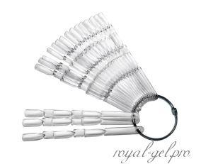 Палитра веер на кольце на 150 оттенков прозрачная