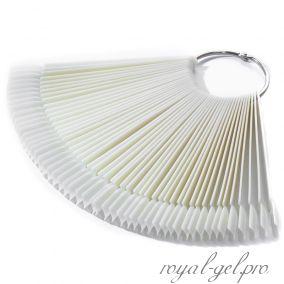 Палитра-веер на 50 оттенков натуральная