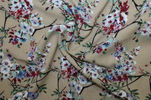 Блузочная ткань фенси креп VT-10185/D3/C#3