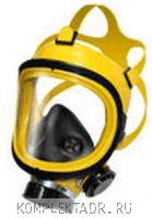 Полнолицевая маска для водителя перевозящего опасные грузы