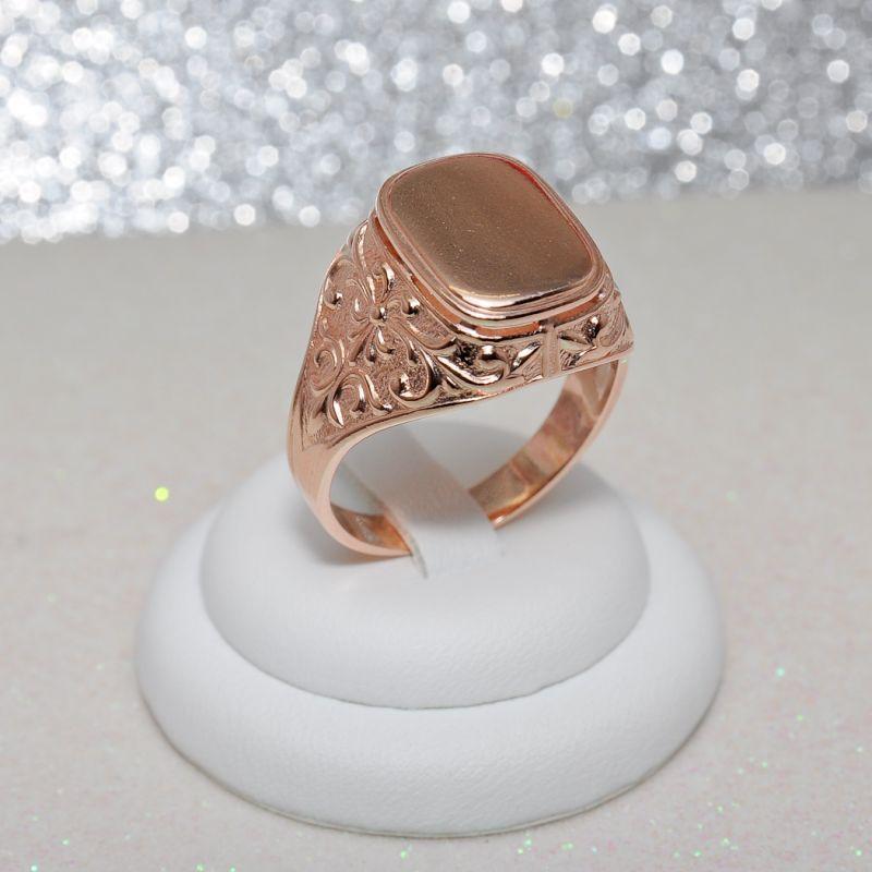 Кольцо мужское КМ629