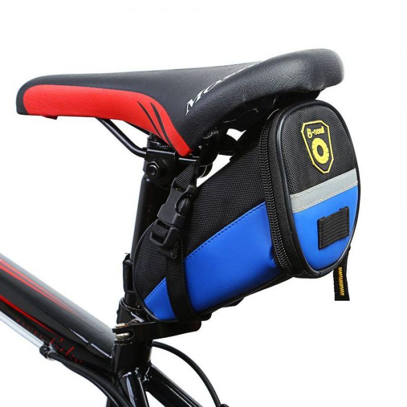 Велосипедная сумка под сиденье B-Soul, цвет синий