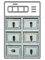 Наклейка на посудомоечную машину  - Ящики