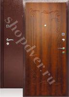 Металлические двери ПВХ