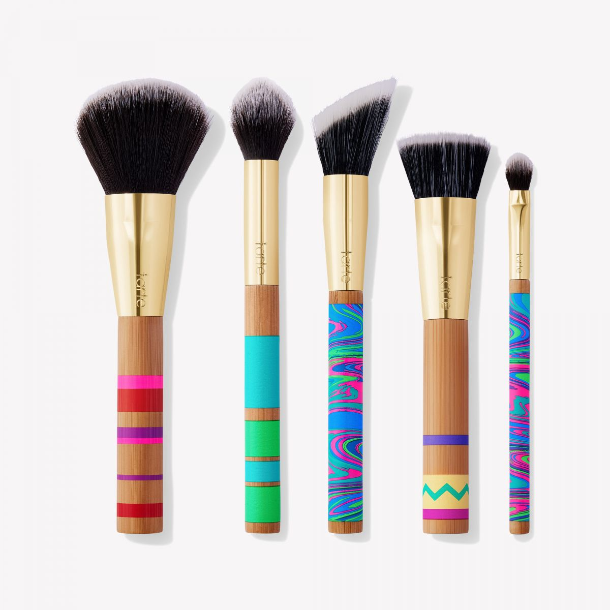 Набор кистей Tarte Cosmetics - peace, love, paint brush set