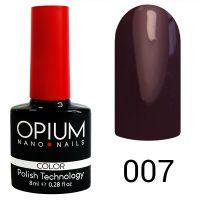 Гель-лак цветной Opium №007, 8 мл