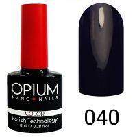 Гель-лак цветной Opium №040, 8 мл