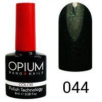 Гель-лак цветной Opium №044, 8 мл