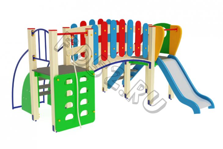 Детский игровой комплекс                          Карапуз Горка 900                                           3080х2880х1600