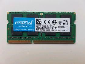 Модуль памяти Crucial DDR3L SO-DIMM 1600MHz - 4Gb CT51264BF160B