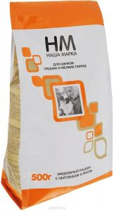 НМ для щенков средних и мелких пород (цыпленок и рис)