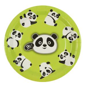 Тарелки Милые панды