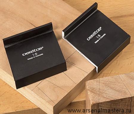 Угольники (шаблоны угловые) Veritas Dovetail Marker 1:6 и 1:8 2 шт.  05N10.11 М00003489