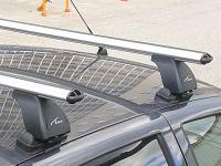Багажник на крышу Samand Khodro, Lux, аэродинамические дуги 53 мм