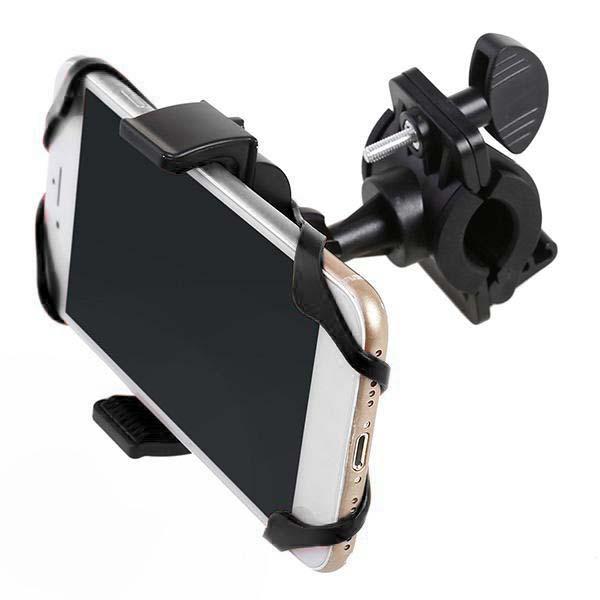 Силиконовый Универсальный Держатель Для Телефона Bicycle Phone Holder, 360 Градусов, Цвет Черный