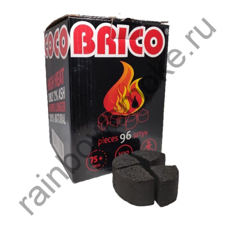 Уголь кокосовый для кальяна Cocobrico X-type (96 шт) под калауд