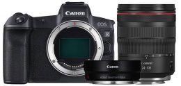 Canon EOS R Kit RF 24-105mm F4L ISEF + EF-EOS R адаптер