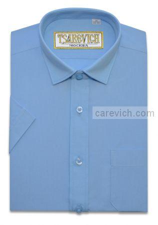Сорочка детская Tsarevich (6-14 лет) выбор по размерам арт.Bell Blue-К   Короткий рукав
