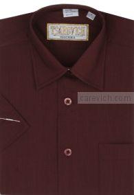 Сорочка детская Tsarevich (6-14 лет) выбор по размерам арт.Maroon-K  Короткий рукав