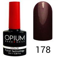 Гель-лак цветной Opium №178, 8 мл