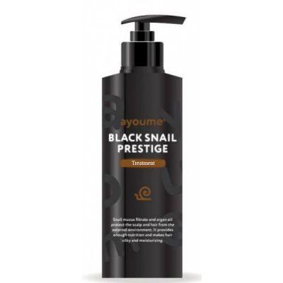 Бальзам для волос с муцином улитки AYOUME BLACK SNAIL PRESTIGE TREATMENT 240мл