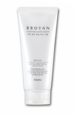 Крем для тела осветляющий A'pieu Bboyan Tanning Body Cream 130мл
