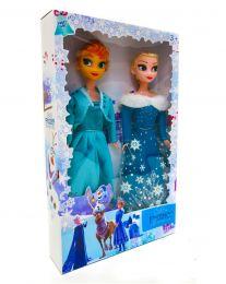 "Набор из 2-х кукол ""Холодное сердце. Анна и Эльза"""