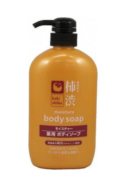 Kumano Cosmetics Kaki Shibu Жидкое мыло для тела увлажняющее с экстрактом хурмы 600 мл