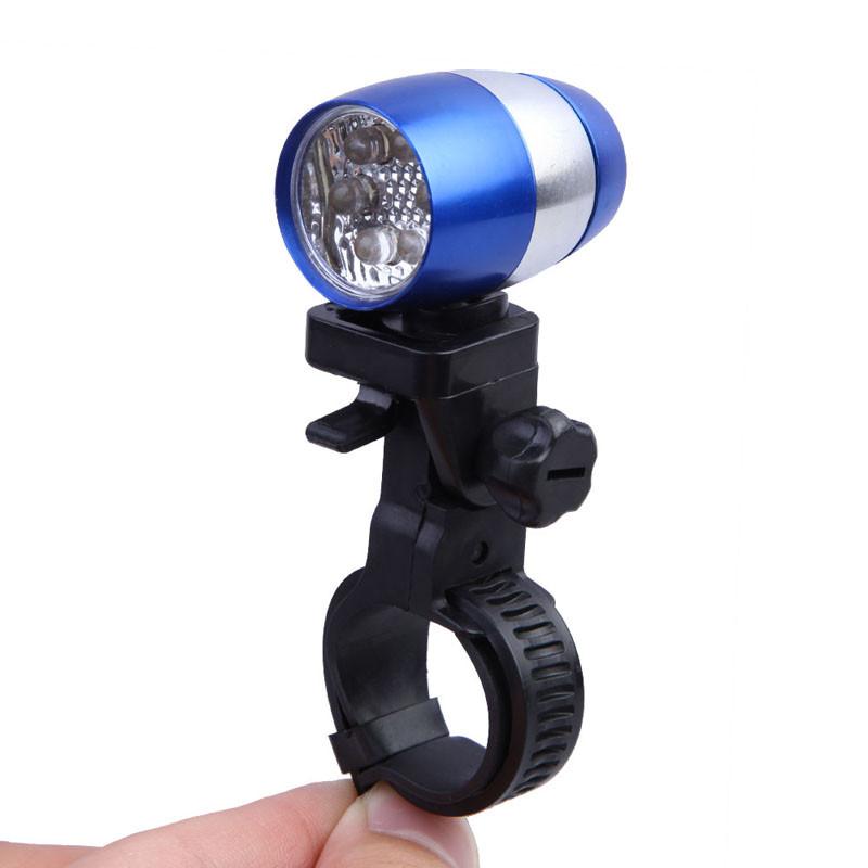 Мини-Фонарь Для Велосипеда Mini Safety Light Dachelun 6 LED, Цвет Синий