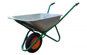 Тачка строительная оцинков.  90 л,  колесо с подшипником (4.00-8)