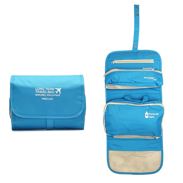 Органайзер для путешествий Long Term Travel Bag, цвет голубой