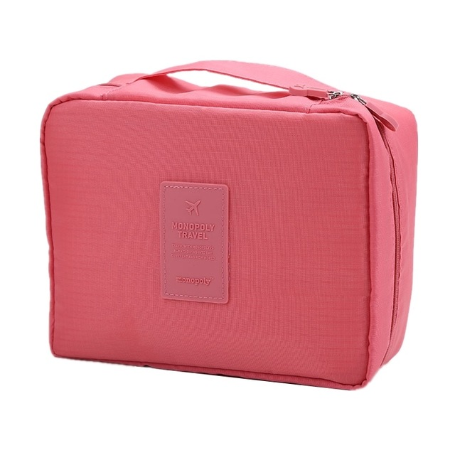 Дорожная Косметичка Multi Pouch Ver.2, Цвет Розовый