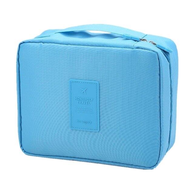 Дорожная Косметичка Multi Pouch Ver.2, Цвет Голубой