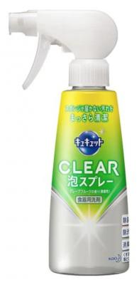 Спрей-пенка для мытья посуды KAO CuCute Clear Bubble Spray, 300мл