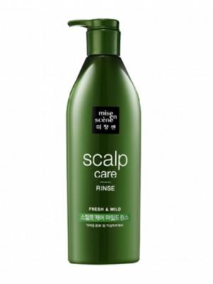 Восстанавливающий кондиционер для чувствительной кожи головы MISE EN SCENE Scalp Care Rinse 680 мл