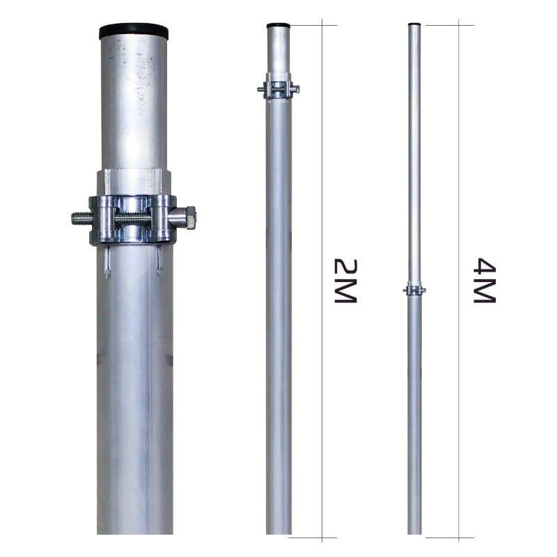 Мачта 4м Алюминиевая (МАТ 20-40)