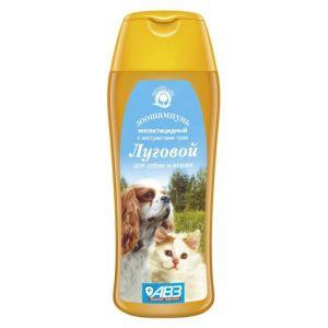 """Шампунь Агроветзащита """"Луговой"""" от блох и клещей для собак и кошек, 270гр"""