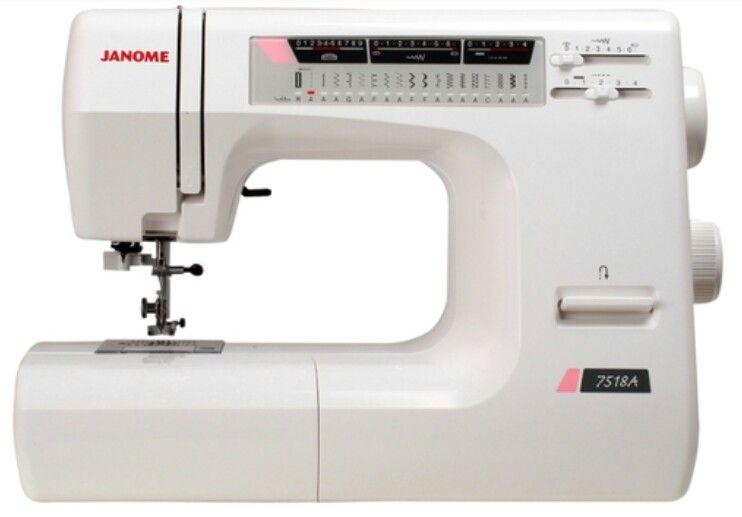 Швейная машина JANOME 7518a (комплектация без чехла). / цена 19000 руб.!