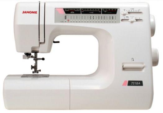 Швейная машина JANOME 7518a     ЦЕНА ПО АКЦИИ -10%- 22050 РУБ.!