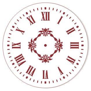 Трафареты для часов