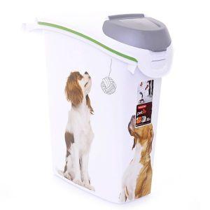"""Контейнер CURVER PET LIFE для корма """"Собачьи новости"""" на 10 кг, 23 х 50 х 50 см"""