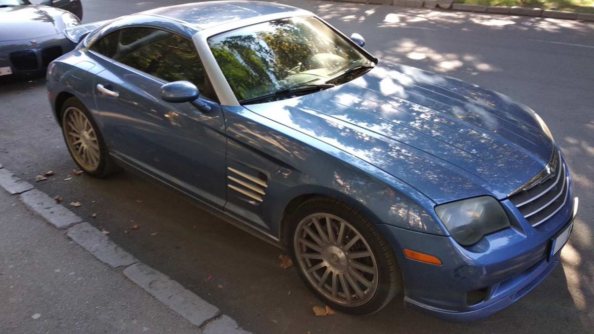 Аренда Chrysler Crossfire SRT6 3.2 Kompressor 420 л.с. 2005 г.