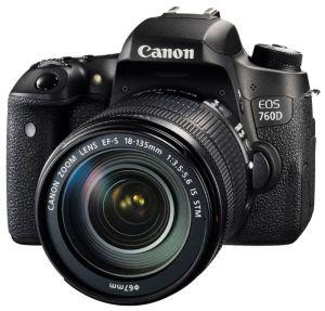 Canon EOS 760D Kit 18-135 STM