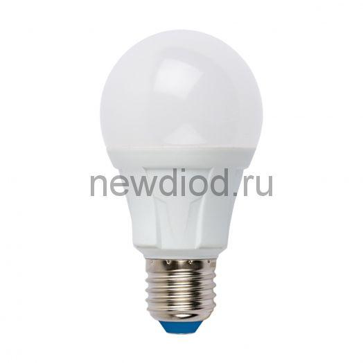 Лампа светодиодная LED-A60 8W/NW/E27/FR 4000К яркая Uniel